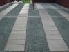 Indkørsel granitskærver fliser 60x60